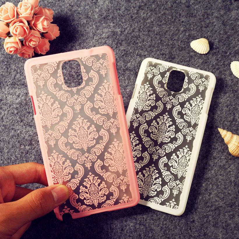 Retro Phone Covers Cases For Samsung Galaxy NoteIII N9000 Note3 N9005 Note III Note 3 5.7'' Cases Henna Floral Female Hard Bags(China (Mainland))