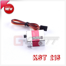 Freeshipping KST (3 PIECES/LOT) DS215MG Digital Coreless Swashplate CCPM/Rudder Servo For 450 RC Helicopter elicottero Big Sale