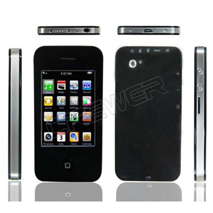 "New 2.8"" 32GB Touch Screen I9 4G Style Mp4 MP5 Player with Camera Game Video Free Ship(China (Mainland))"