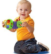 Аккордеон пластиковые насекомых игрушки по охране окружающей среды пластиковые младенцы развития интеллекта бесплатная доставка