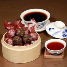 ancient trees pu er high-grade tea raw hand-made ripe pu-erh tea health care weight lose menghai alpine china tea pu-er food