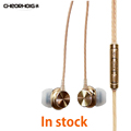 Original CHEORHOIG P01 Stereo Earphone Super Bass Headset with microphone Gaming Headset For iphone 5 6