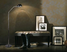 Modern Fashion Brief office home living room  floor lamp lighting black marble metal floor light  hose arm for angle adjustment(China (Mainland))