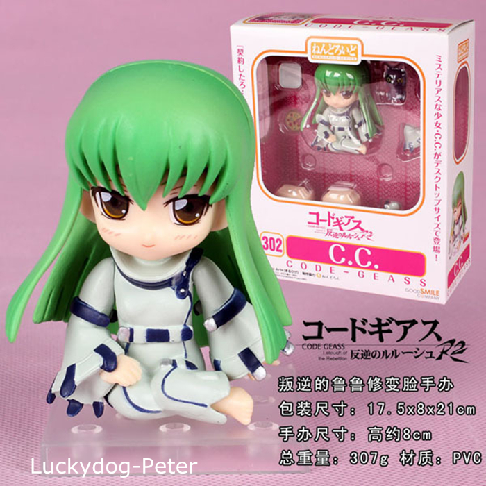 Code Geass C.C. Action Figure 1/10 scale painted figure 302# Cute C.C. Doll PVC ACGN figure Garage Kit Toys Brinquedos Anime(China (Mainland))
