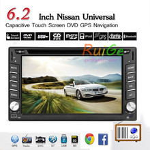 Capacitive 6.2 inch HD LCD Android5.1 Double 2 Din Car DVD Player Stereo Radio head Deck GPS Navigation bluetooth 1GHZ 3G WIFI BT TV - The home of navigation store