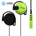 LiiVEES MS 808Q Ear Hook 3 colorful sprot Wireless Bluetooth headphone Stereo beatsstudio games earphones headsfree