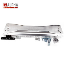Alpha Racing-High Quality New REAR  subframe reinforcement brace with lower tie bar for Honda Civic 92-95 EG(China (Mainland))