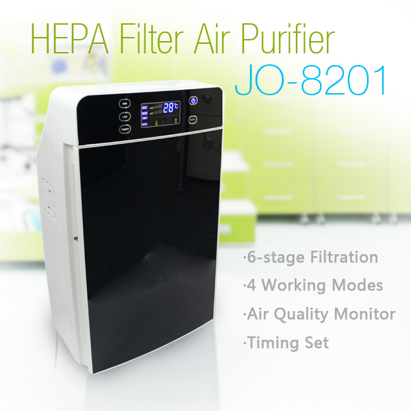 Health care product air cleaner home purifier(JO-8201)(China (Mainland))