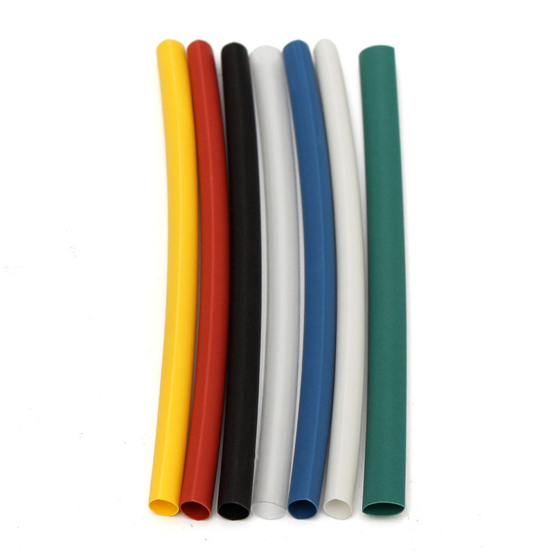 Hot Sale 140Pcs Car Electrical Cable Heat Shrink Tube Tubing For Wrap Sleeve Assorted 5 Sizes 7 Colors Polyolefin Electric Part(China (Mainland))