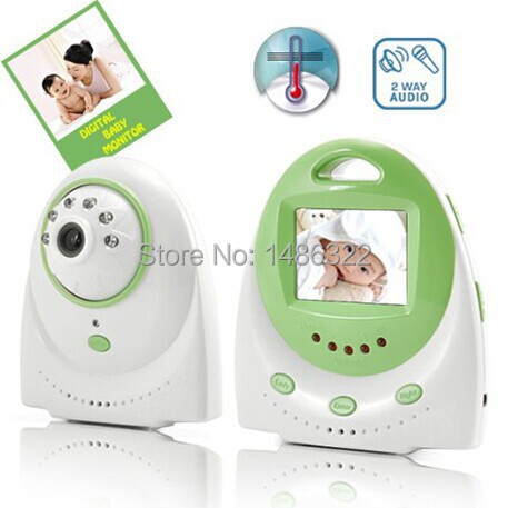 2.4GHz Wireless Digital Baby Monitor security camera security camera Two Way Audio and Temperature Alarm and TV out function(China (Mainland))