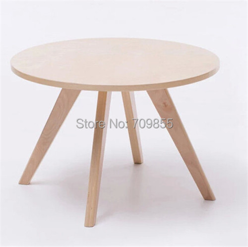 Contemparay Round Coffeetable Natural Color Living Room