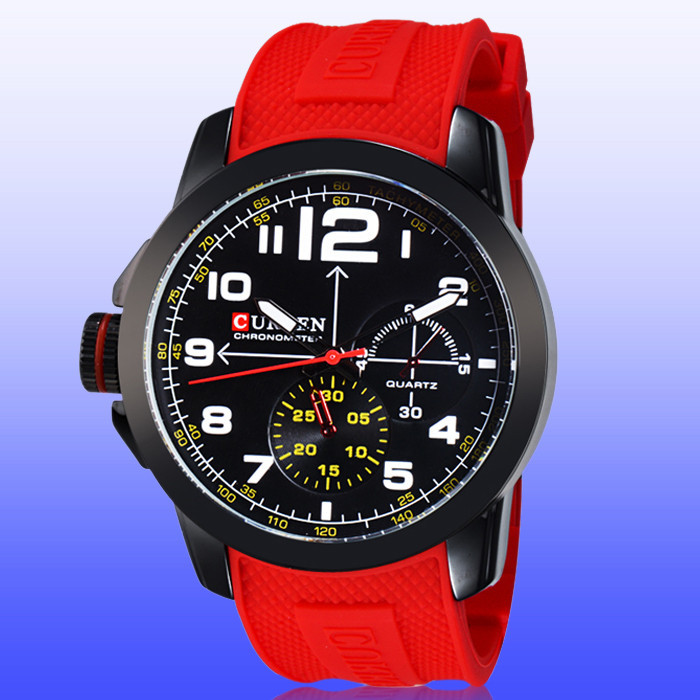 Curren , Hombre Reloj Relogio 2015 curren  fashion shhors 2015 10m eyki reloj hombre 10000301