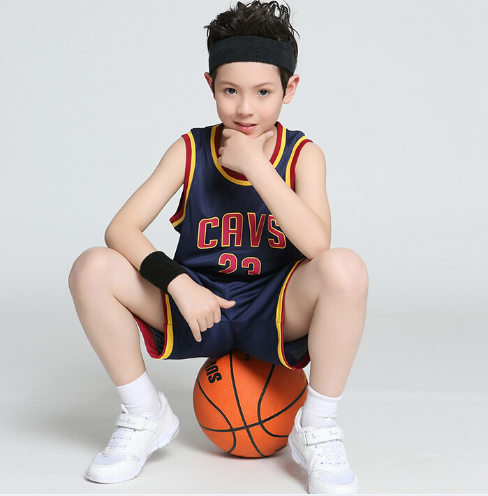 Kids/Children Summer Basketball Jersey Set Training Tracksuit/Clothes/Ensemble For Boys Girls /Garcon/Jongens Clothing set(China (Mainland))
