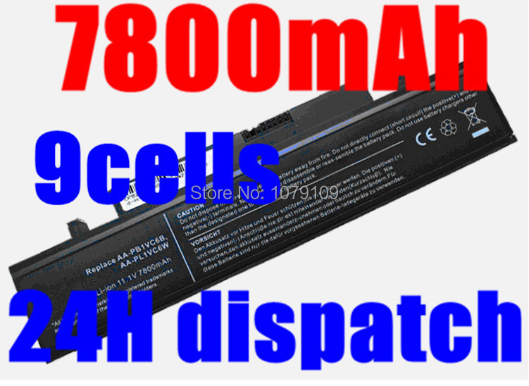 7800MAH Battery For SAMSUNG X318 X320 X418 X420 X520 Q328 Q330 N210 N218 N220 NB30 Plus AA-PB1VC6B AA-PL1VC6B Battery(China (Mainland))