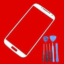 New  Front Replacement Screen Glass Lens Replacement Parts For Samsung GalaxyS4 i95002014 Free Shipping 2015