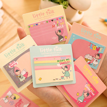 Buy 2016 Cute Cartoon N times Memo Pad Sticky Notes Memo Notepad School Office Supply Escolar Papelaria Gift Stationery for $1.50 in AliExpress store
