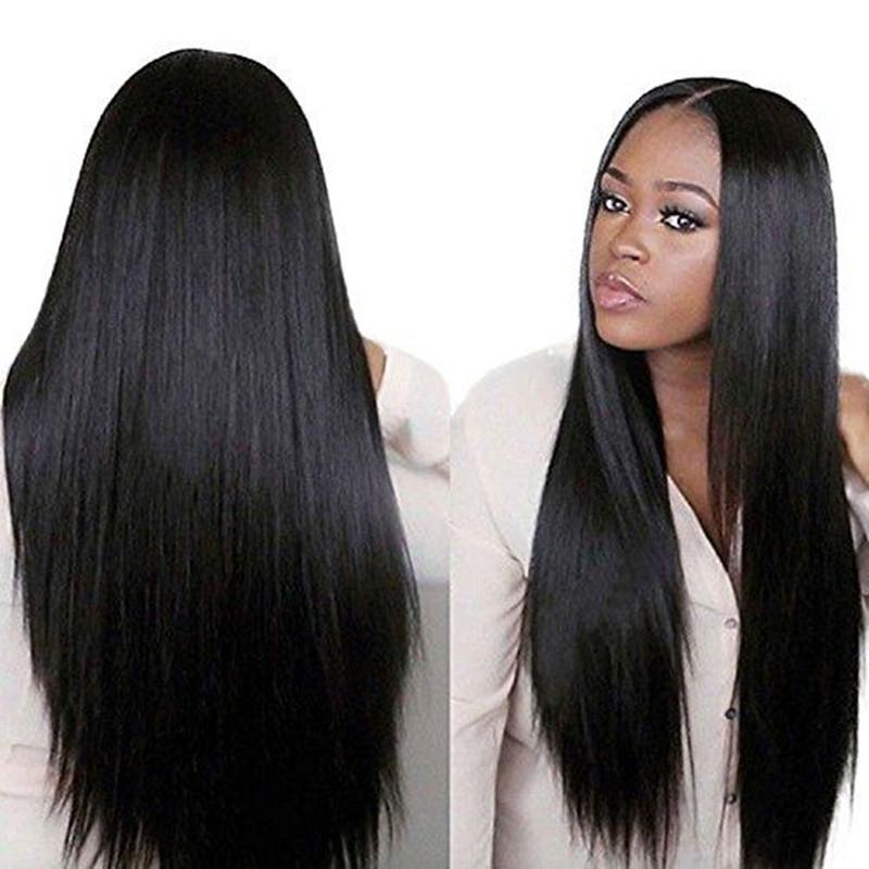 Lady Beauty Hair Products Peruvian Afro Straight hair 100% Unprocessed Human Virgin Hair Monofilament Human Hair Wigs(China (Mainland))