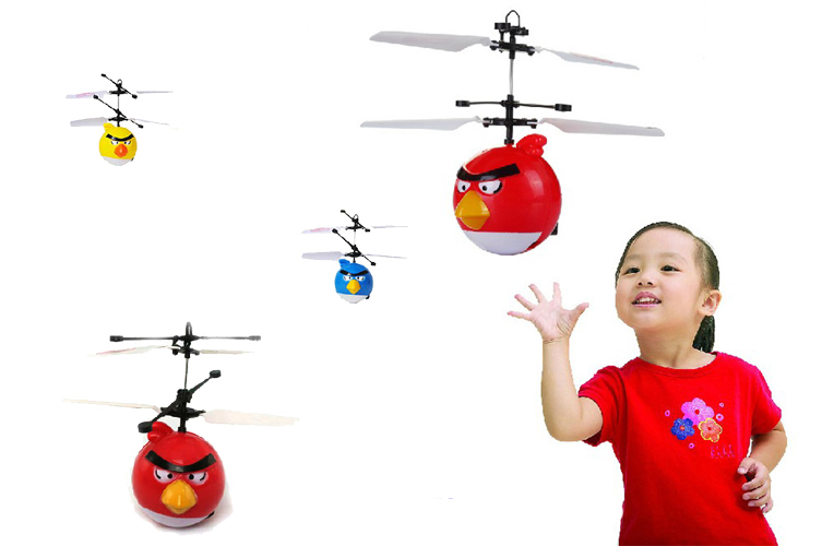RC Helicopter Kids Boy toys Helicoptero Birds toys flying Saucer Induction Mini flyer Baby Remote Control