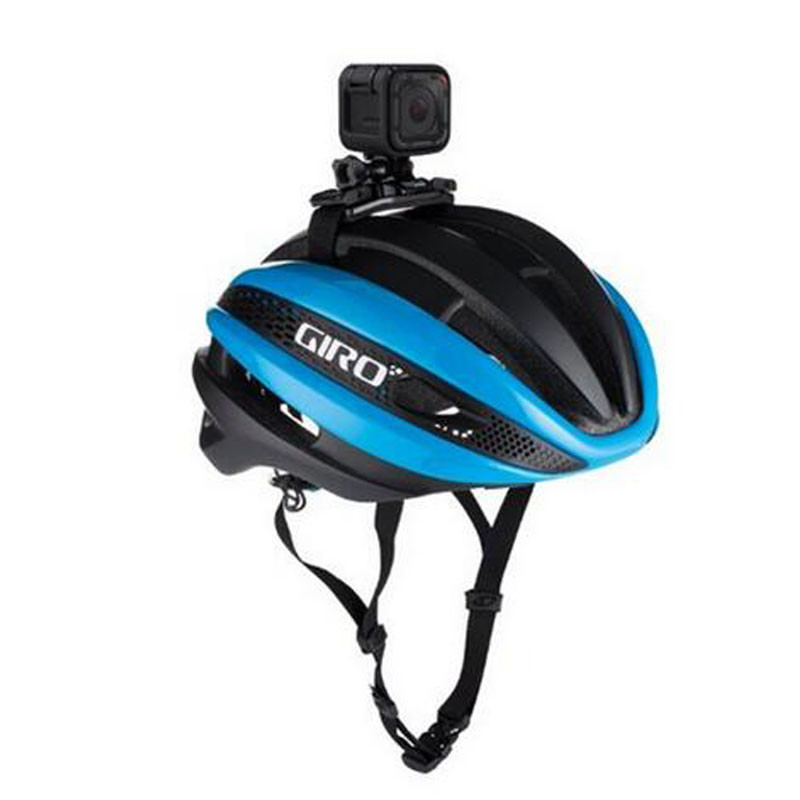 Gopro Accessories Vented Helmet Strap Mount For Gopro Hero 1 2 3 SJCAM SJ4000 Wifi Soocoo for xiaomi Yi Action Camara Accessory