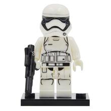 Star Wars 7 Minifigures First Order Stormtrooper Single Sale The Force Awakens Building Blocks Set Bricks Toys Figures