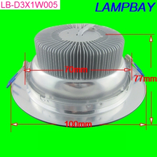 3W recessed light replace to 35W LED downlight best quality lamp without flicker 2.5inch(China (Mainland))