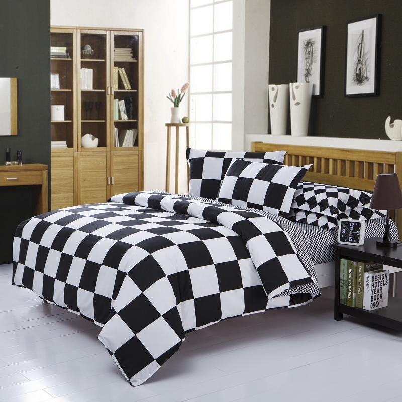 Home textile,European and American minimalist style 3D Reactive Print 4Pcs bedding sets include Quilt Cover Bed sheet Pillowcase(China (Mainland))