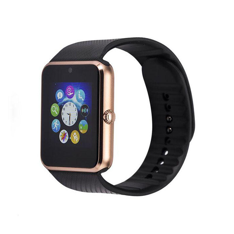 2015 Smart Watch GT08 Clock Sync Notifier Support Sim Card Bluetooth Connectivity Apple iphone Android Phone Smartwatch Watch<br><br>Aliexpress