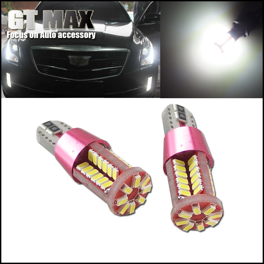 2pcs High Power HID Xenon White T10 168 194 56-SMD LED Bulbs Car Parking License Plate Lights Auto Replacement Map Dome Light(China (Mainland))