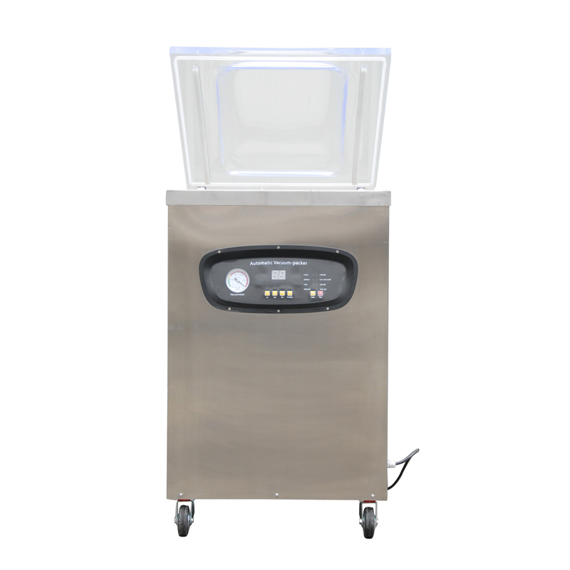 500 vertical vacuum packaging machine food vacuum machine computer version of the single chamber vacuum sealer vacuum(China (Mainland))