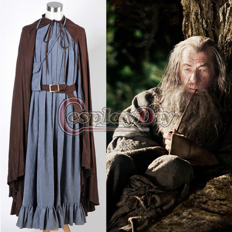 Cheap Custom Made The Lord of the Rings The Fellowship of the Ring Gandalf Costume Set Cosplay Costume