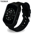 Smart Watch Android Wearable Devices Toobur GPS Wifi 3G Heart Rate Smartwatch Phone with HD Camera