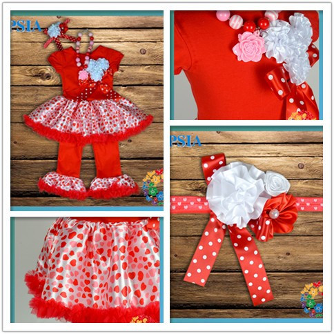 Aliexpress com buy cute kids valentine clothing red tank dress with