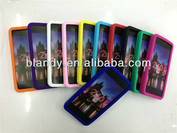 50pcs/lots& Free shipping plain colors Silicone soft cover case For blackberry Z10