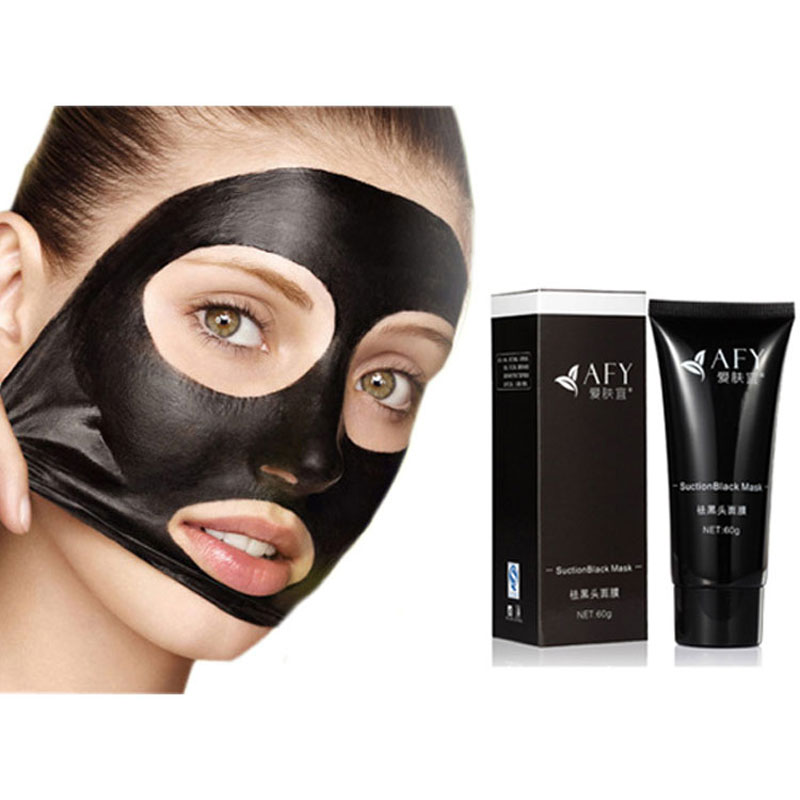 1Pcs Sucktion black mask Blackhead acne contract pores dumb rough face skin Free Shipping(China (Mainland))