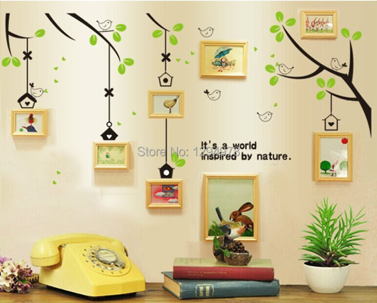 3d wall stickers removing bedroom living room sofa