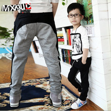 Retail Big children's clothing Spring and autumn 2015 child casual pants sports pants trousers child trousers(China (Mainland))