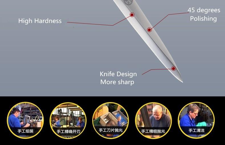 Buy Free Shipping Toujiron Western-style Professional Sashimi Sashayed Knife Kitchen Cooking Sushi Salmon Slicing Fillet Knives cheap