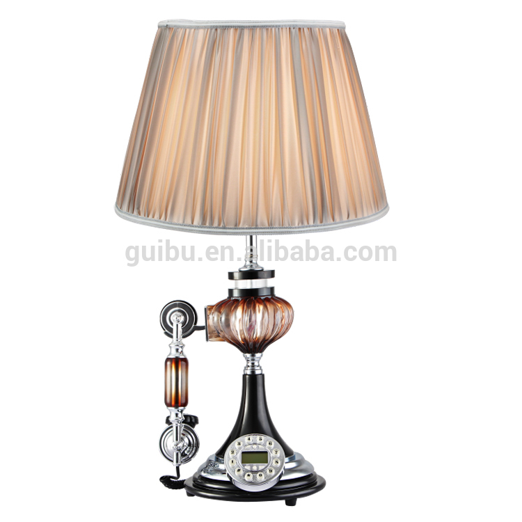 crystal home decorative items living room glass table lamp. Black Bedroom Furniture Sets. Home Design Ideas