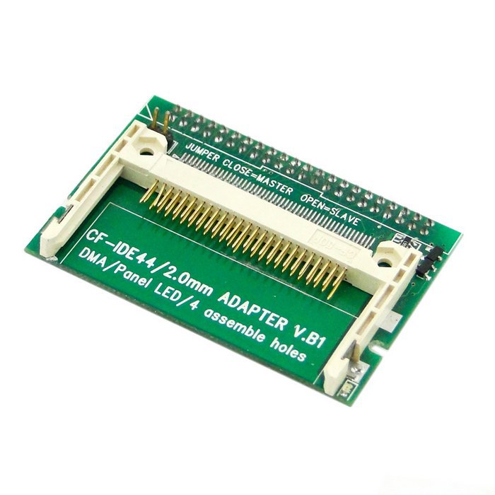 """CF Compact Flash Merory Card to Vertical 2.5"""" 44 Pin IDE Hard Disk Drive HDD SSD Adapter(China (Mainland))"""