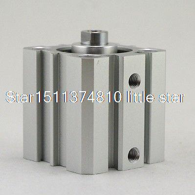 AIRTAC Type Single Acting Pull Type STAS100-5 Compact Cylinder <br><br>Aliexpress