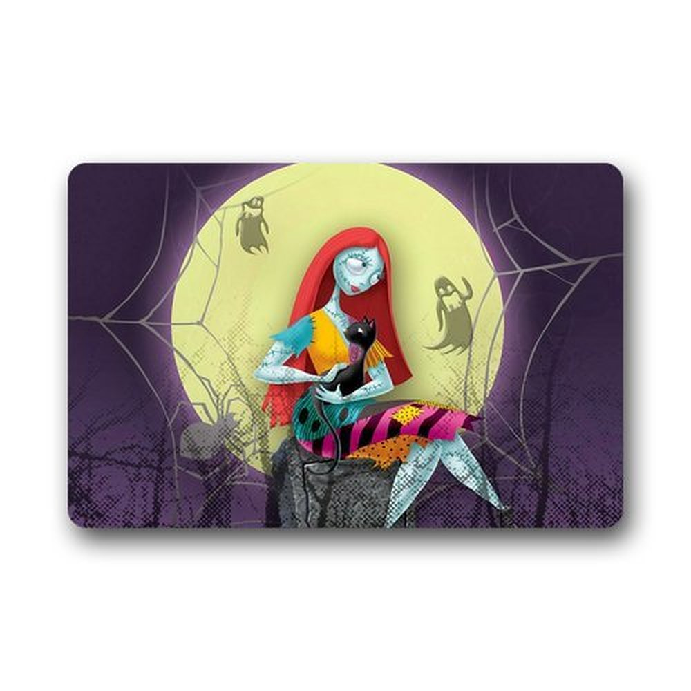 Rubber floor mats bar - Fashion Design Welcome Mat The Nightmare Before Christmas Custom Doormat Kitchen Decor Floor Mats Rugs 23 6 X 15 7 Inches