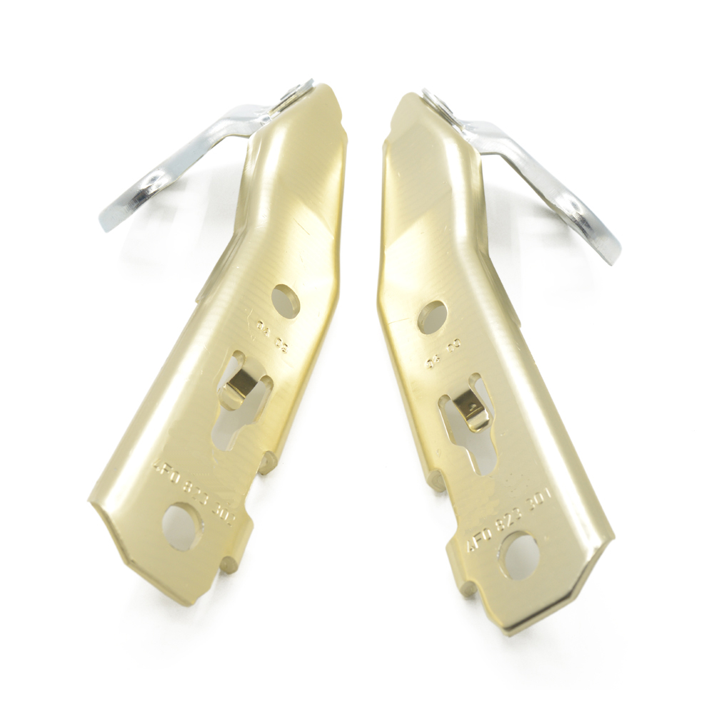 100% Brand New For 05-11 AUDI A6 C6 AVANT Hood Hinge Hinges Pair 4F0 823 302 & 4F0 823 301 + Free shipping!(China (Mainland))