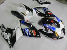 Buy Motorcycle Fairing kit SUZUKI GSXR600 750 06 07 GSXR600 GSXR750 K6 2006 2007 White blue black Fairings set +7gifts SD75 for $360.05 in AliExpress store