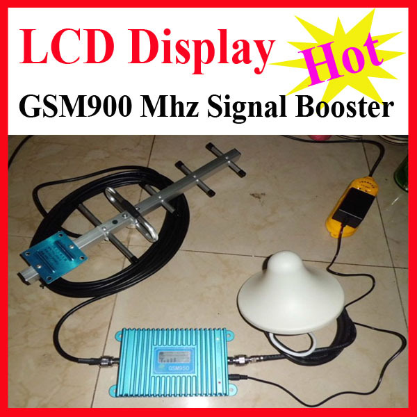 Hot Sell High Quality LCD Display Cell Phone Signal Booster Amplifier, GSM Signal Repeater, 900mhz Booster Amplifier Wholesale