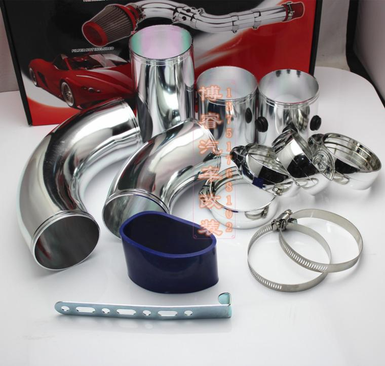 Free shipping car modification intake tubes / mushroom head intake manifold / Throttle takeover / multifunction takeover