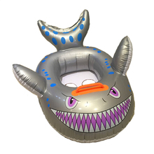 New Arrival Decora Shark Design Infant Inflatable Toys Outdoor Kids Inflatable Water Toy Summer Swimming Pool Ring Bath Toy Seat(China (Mainland))