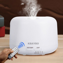 Buy Remote Control 300ML Ultrasonic Air Aroma Humidifier 7 Color Lights Electric Aromatherapy Essential Oil Aroma Diffuser for $17.80 in AliExpress store