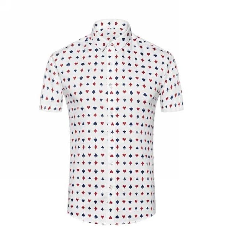 2015 man print shirts casual dress shirts soft  the cotton latest fashion figured Slimming sexy man shirts(China (Mainland))