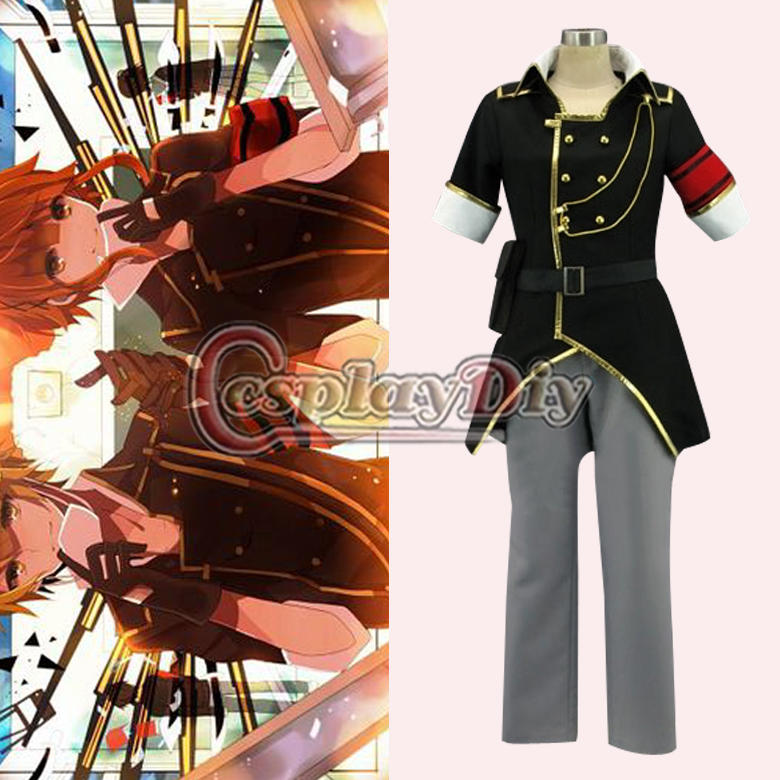 Здесь можно купить  Free Shipping Custom Made Vocaloid Uniform Len World Domination Cosplay Anime Cosplay Costume Free Shipping Custom Made Vocaloid Uniform Len World Domination Cosplay Anime Cosplay Costume Одежда и аксессуары