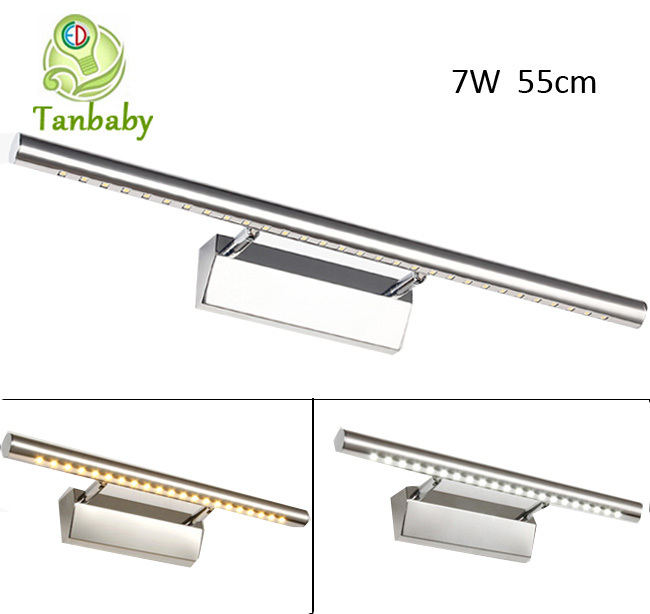 Tanbaby 7W Mirror led light modern wall lights white SMD 5050 30led Led Bathroom Lights Wall Cabinet Mirror Lighting<br><br>Aliexpress